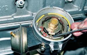 Регулировка  зажигания Газ-3110