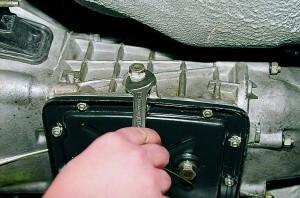 Замена масла в коробке передач (КПП) Ваз-2107