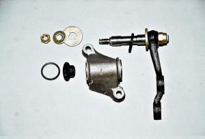 Снятие, замена и ремонт маятникового рычага Ваз-2107
