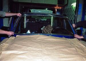 Установка ветрового стекла Газ-3110