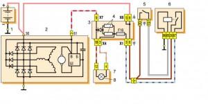 Устройство генератора Ваз-2109