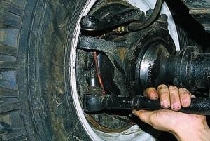 Замена рулевых тяг уаз