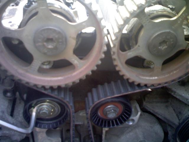 Замена ремня ГРМ на двигателе Zeteс 1,8 л. Ford focus