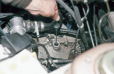 Замена масла в кпп ВАЗ 2110 «Лада»