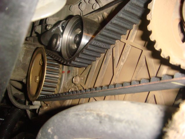 Замена ремня ГРМ на Toyota Land Cruiser Prado 120 двигатель 1KZ D-4D