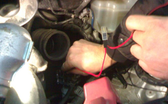 Установка подогрева топливного фильтра на Toyota Avensis Verso