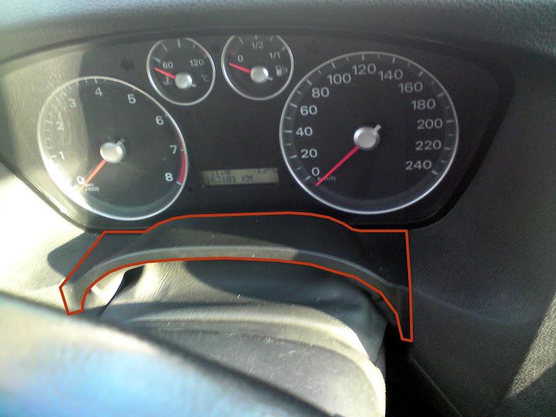 Снятие панели приборов Форд Фокус 2