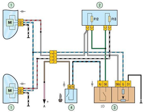 Электрокорректор фар на ВАЗ