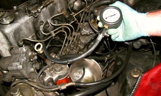 компрессия в двигателе audi a6 дизель