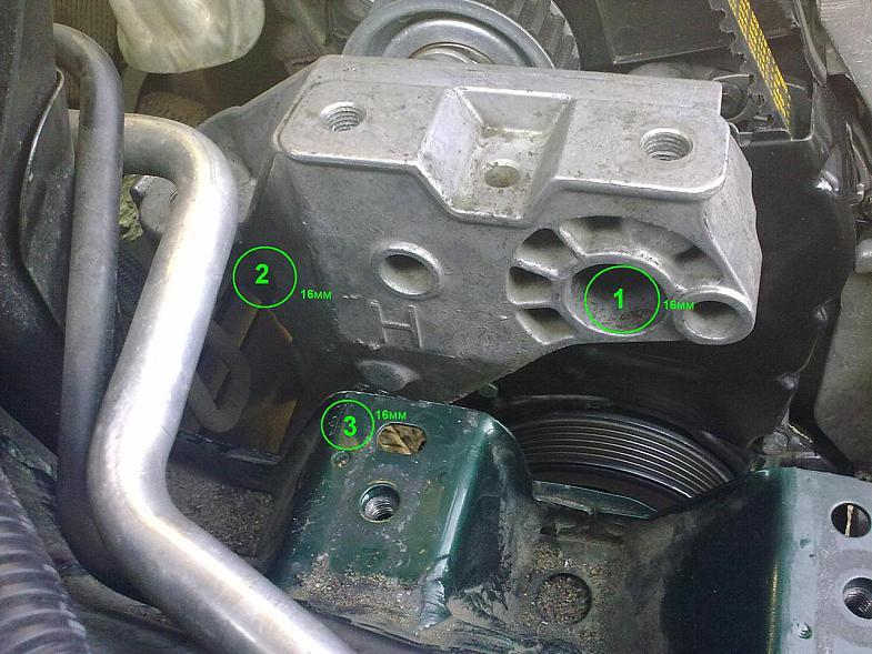 Замена ГРМ на VW Golf с одним распределительным валом