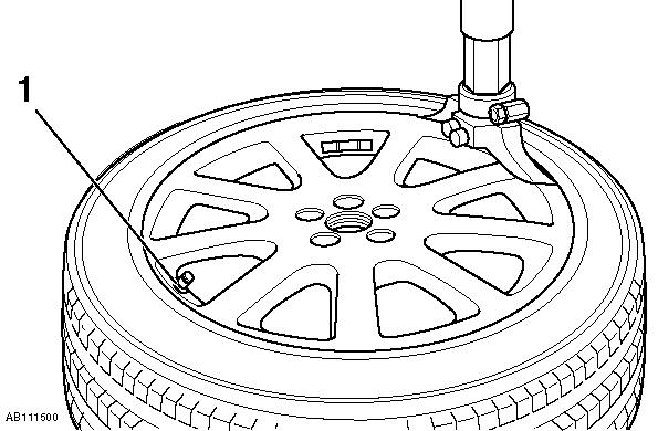 Проверка состояния и замена шин на BMW X5 E53