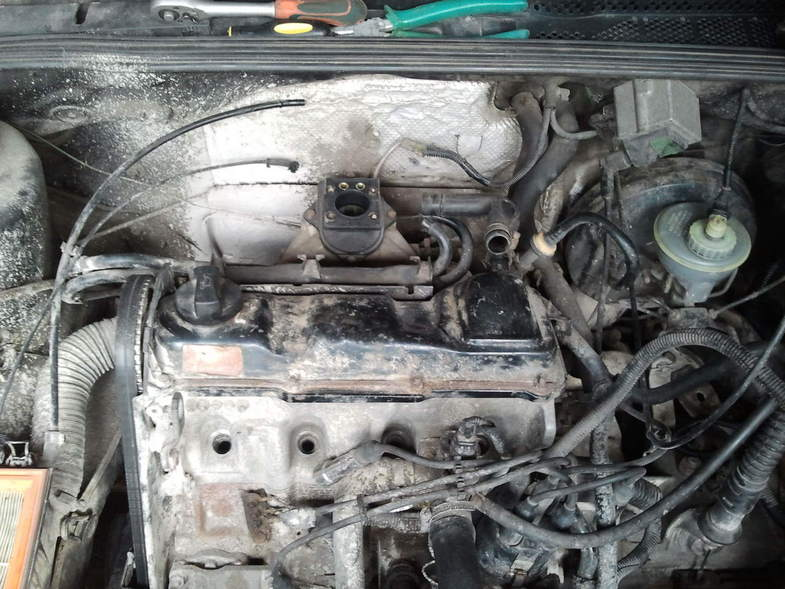 Замена прокладки ГБЦ на Volkswagen Vento