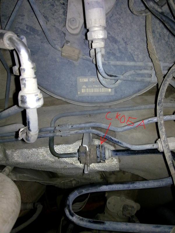 Замена главного цилиндра сцепления на Ford Focus 2