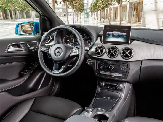 Компактвен Mercedes-Benz B-класса