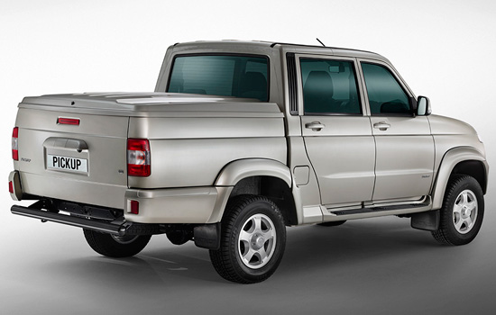 УАЗ Pickup – стильная «рабочая лошадка»