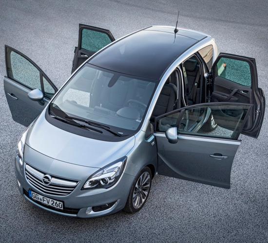Компактвэн Opel Meriva B