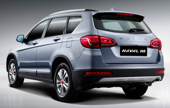 Премиум-SUV Haval H6 ото Great Wall